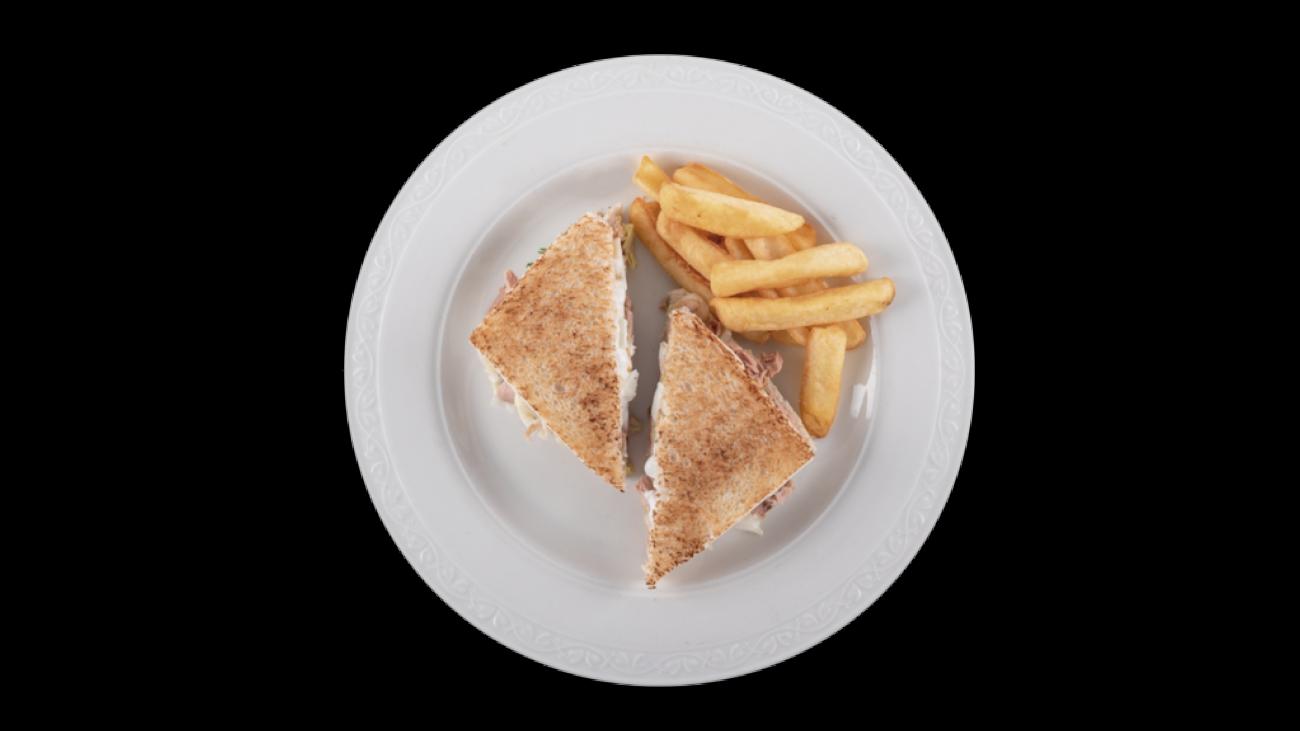 sandwich de gambas